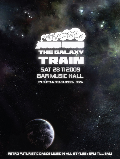 the galaxy train